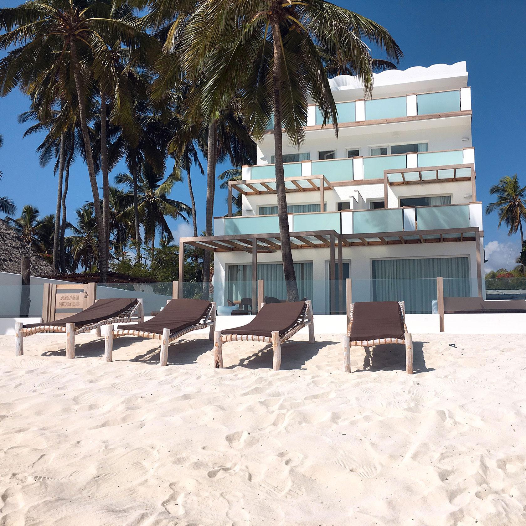 Beachfront Private Villa In Zanzibar